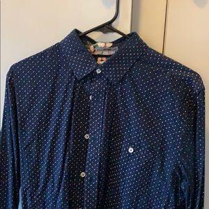 Men's LS button down Express Shirt